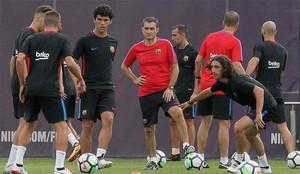 Valverde ha contado con jugadores del filial