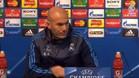 As� fue la rueda de prensa de Zidane