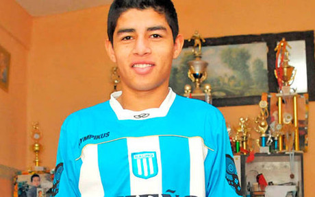 Fernando Valenzuela es una joven promesa de Racing