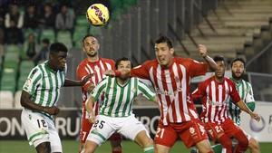 El Girona y el Betis se encontrarán por primera vez en Primera División
