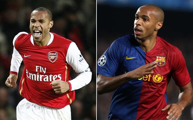Bar�a y Arsenal se 'pican' en las redes sociales con Henry de por medio
