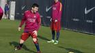 Messi se queda en casa y no se entrena con el grupo