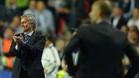 Mourinho y Guardiola, durante su �ltimo enfrentamiento en la Supercopa de Europa de 2013