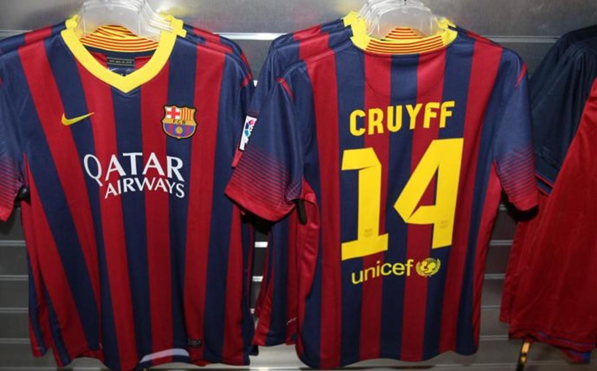 �Por qu� Johan Cruyff populariz� el dorsal 14?
