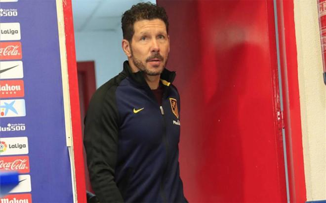 Simeone cree que su equipo y el Sevilla est�n en disposici�n de luchar el t�tulo de Liga Santander
