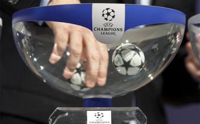 Sorteo de Champions, fase de grupos