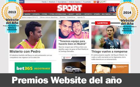 SPORT.es opta a ser la Mejor Web en Noticias e Informaci�n del 2014