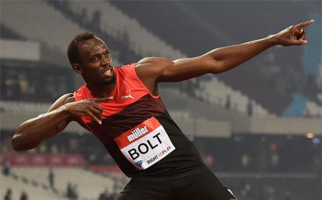 Usain Bolt le envi� un mensaje a Mourinho