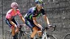 Valverde y Amador fueron los grandes derrotados de la etapa de ayer