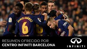 Vea los goles del Valencia - FC Barcelona (ES)