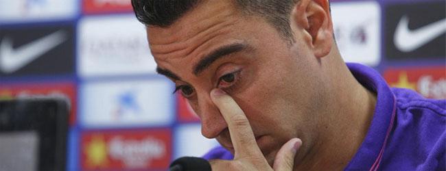 """Xavi Hern�ndez: \""""Dejo el Bar�a y jugar� en el Al-Sadd de Catar\"""""""