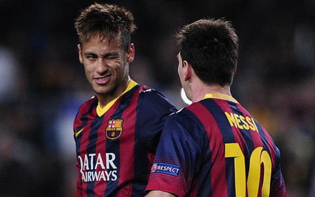 Messi y Neymar optan a entrar al once ideal de 2013 como dealnteros