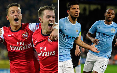 Arsenal y City, los 'segundos' m�s potentes
