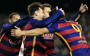 El Barça se hartó de ganar en 2015