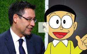 Bartomeu habló del personaje de Nobita