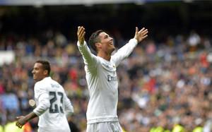 Cristiano Ronaldo se dio un festín ante el Celta