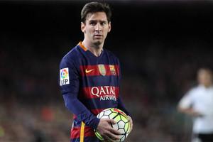 Leo Messi, delantero del FC Barcelona
