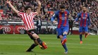 Messi estrenó botas ante el Athletic
