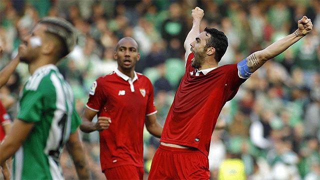 Video resumen: Betis - Sevilla (1-2). Jornada 24, Liga Santander 2016-17