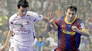 Esquerdinha ya conoce el Palau Blaugrana, pero como rival