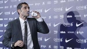 El entrenador Ernesto Valverde