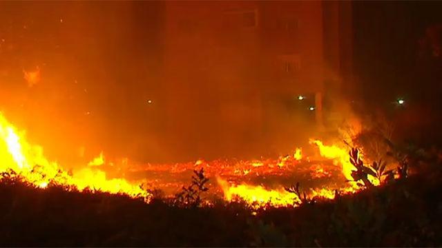 Vigo, asediada por el fuego