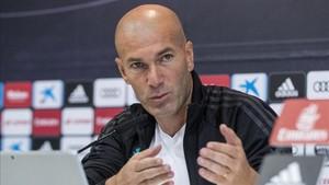 A Zidane le molestaron las críticas de Lineker