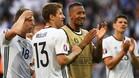 Alemania arranca la apisonadora y golea