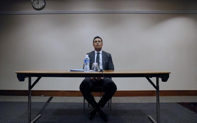 Amadeo Salvo, durante la rueda de prensa