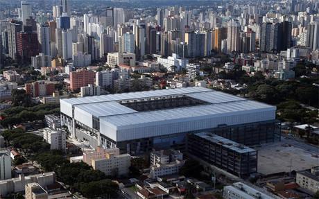 El Arena da Baixada de Curitiba