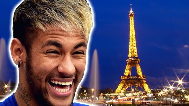 Así de lujosa y fiestera es la nueva vida de Neymar en París (ES)