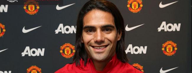 El colombiano Radamel Falcao marcha cedido por un a�o al Manchester United