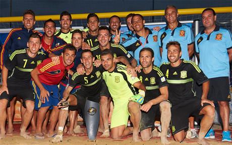 Espa�a gan� la Copa Europea