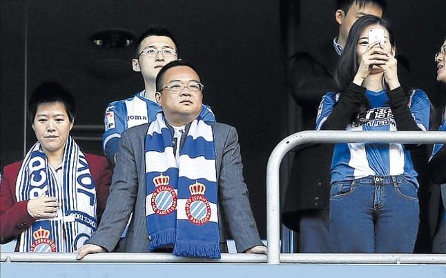 Chen felicit� a Galca tras el 0-0 en el derbi