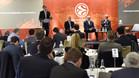 La Euroliga se reuni� con los clubes en Londres