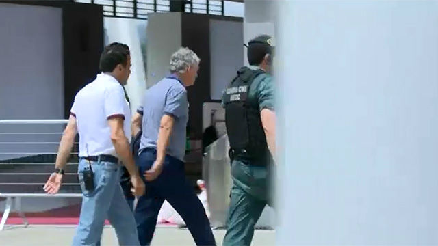 Fianza de 300.000 euros para Ángel María Villar