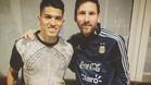 Messi ya est� en Rosario