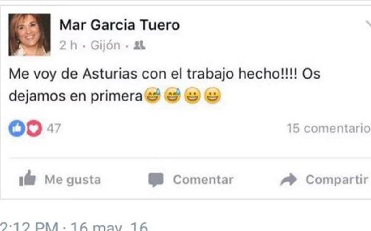 La mujer de Marcelino García Toral aviva la polémica del descenso