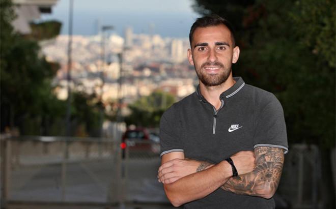 Paco Alc�cer recibi� a SPORT en su casa