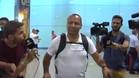 El padre de Neymar llegó ayera Barcelona para negociar con el club