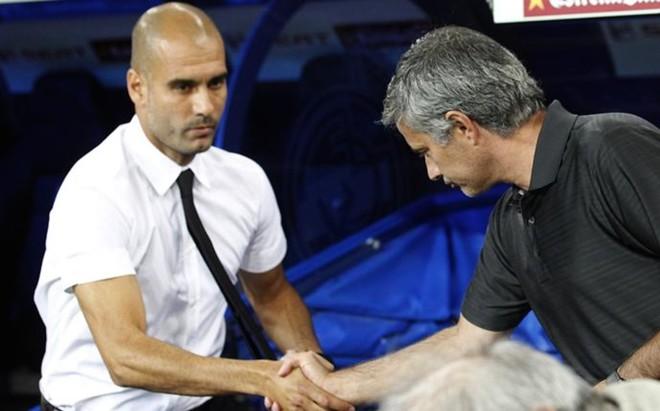 El reencuentro entre Guardiola y Mourinho deber� esperar