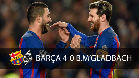 Vea las mejores imágenes del FC Barcelona - Borussia Monchengladbach (4-0)