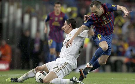 Iniesta no pudo mantener su racha de partidos sin perder en Liga