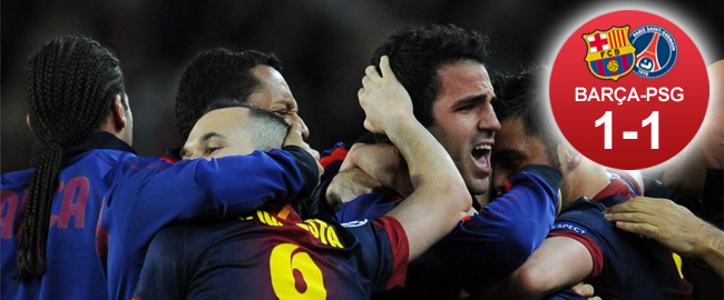 Messi rescata a un Barça desconocido