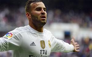 Jesé, en un partido con el Madrid