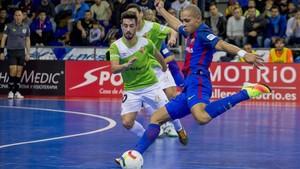 Ferrao y Joselito, en el duelo de la primera vuelta en el Palau