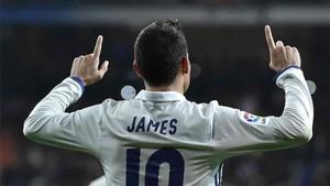 James Rodríguez, estrella colombiana del Real Madrid