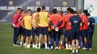 Los 10 descartados del Bar�a para la Supercopa de Catalunya