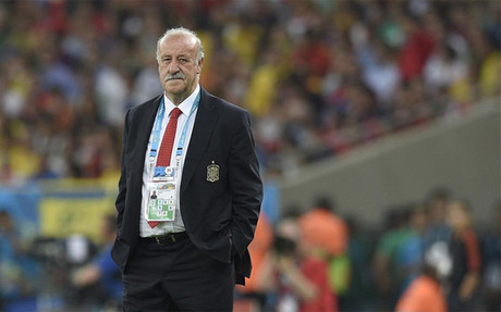 Del Bosque's men are out