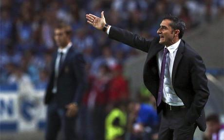 """Valverde: """"Salvo en el Camp Nou y Bernabeu siempre hemos tenido opciones de ganar"""""""